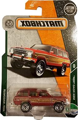 Matchbox 2018 MBX Road Trip 22/35 - Jeep Wagoneer