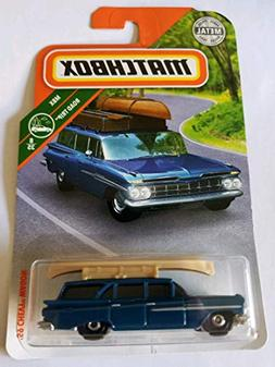 Matchbox 2018 MBX Road Trip 8/35 - '59 Chevy Wagon