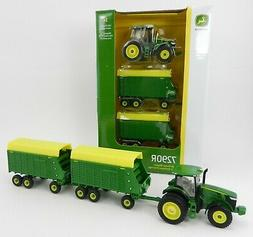 2019 ERTL 1:64 JOHN DEERE Model 7290R Tractor &  Tandem Axle