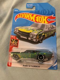 2019 Hot Wheels HW FLAMES 3/10 '70 Chevelle SS Wagon 56/250