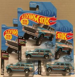2019 Hot Wheels K Case '64 NOVA Wagon GASSER #198 Jerry Rigg