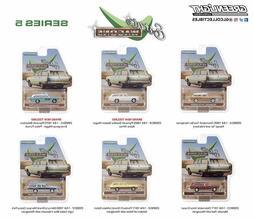 Greenlight 29990 Estate Wagons Series 5 Diecast Cars 1:64 sc
