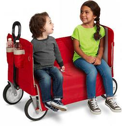 Radio Flyer 3-in-1 EZ Fold Wagon Kids Toddler Padded Seat Wi