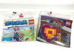 LEGO 30340 Emmet's Piece Offering 30406 Unikitty Roller Coas