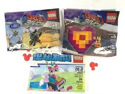 LEGO 30340 Emmet's Piece Offering 30528 MetalBeard 30406 Uni