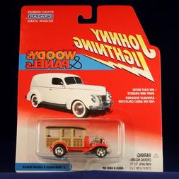 '31 FORD MODEL A STATION WAGON * RED * Johnny Lightning 2002