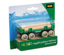 BRIO 33696 Lumber Loading Wagon - Railway Rolling Stock Age