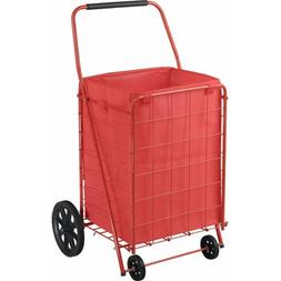 Sandusky 4-Wheel Folding Cart with Liner, FSC4021