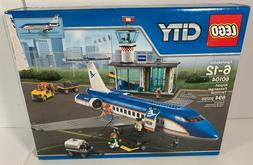 LEGO 60104 City Airport Passenger Terminal Plane Airport New