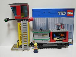 LEGO 60198 CARGO TRAIN ONLY Tower and wagon with containers