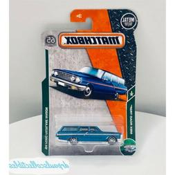 Matchbox '64 Ford Fairlane Wagon Blue Brand New 2018 HTF