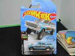 '64 Nova Wagon Gasser #198 Jerry Rigged 2019 Hot Wheels Case