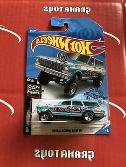 64 Nova Wagon Gasser #198 Jerry Rigged 2019 Hot Wheels Case