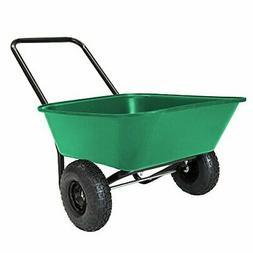 Garden Star 70019 Garden Barrow Dual-Wheel Wheelbarrow/Garde
