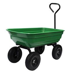 Garden Star 70275 Garden Wagon/Yard Cart with Flat Free Tire