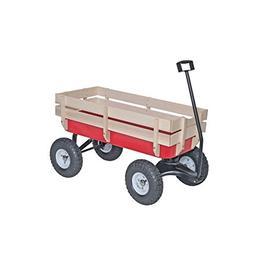 Bigfoot All-terrain Steel and Wood Wagon