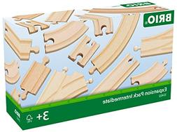 Brio Expansion Pack Intermediate Wooden Track Train Set - Ma