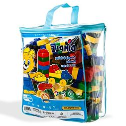 Dimple DC15381 150 Piece Soft Plastic Building Block Set wit