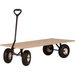 Farm-Tuff Flatbed Wagon - 48in.L x 24in.W, 1000-Lb. Capacity