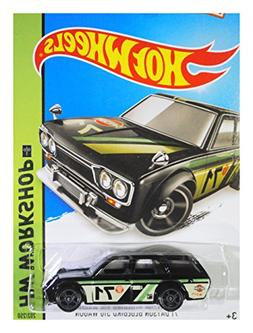 Hot Wheels, 2015 KMart  Exclusive, HW Workshop '71 Datsun Bl