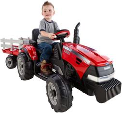 Peg Perego Case IH Magnum Tractor/Trailer