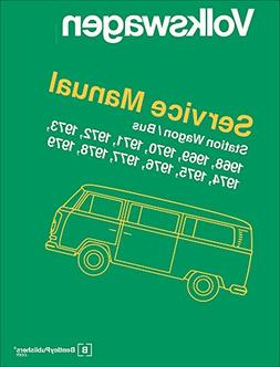 Volkswagen Station Wagon, Bus, Official Service Manual 1968,