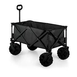Oniva Adventure Wagon All Terrain Folding Utility Wagon, Bla