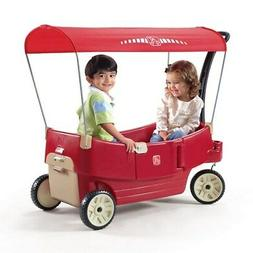 Step2 All Around Canopy Wagon - Kids Wagon With Canopy - BRA