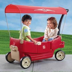 all around canopy wagon red brand new