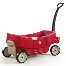 Step2 All Around Wagon, Seats Flip into a Flat Bed, Seat or