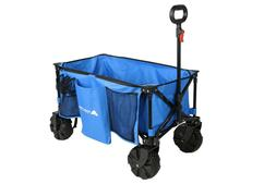 Ozark Trail All-Terrain Folding Wagon with Oversized Wheels,