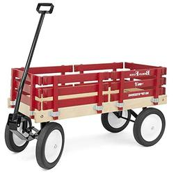 Classic Berlin Flyer Red Wagon for Kids - Amish Made in the