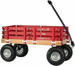 Amish-Made Berlin Flyer F410 Sport Wagon, Kid's Pull Wagon,