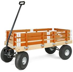 Berlin Amish-Made All-Terrain Tires Loadmaster Wagon Ride On