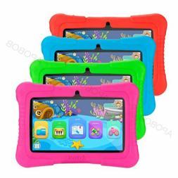 "APOBOB Android 8.1 7"" HD 16GB Kids Tablet PC Dual Camera Qua"