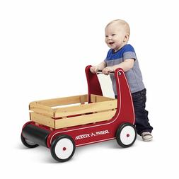 Baby Walker Assistant Toddler Toy Wagon Wooden Development R