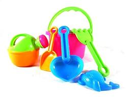 Sealive 6 pcs Beach Toys Sand Tools Play Set for Family Summ