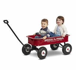 Big Red Classic ATW Wagon Kids Toys Ride Big Classic Easy Pu
