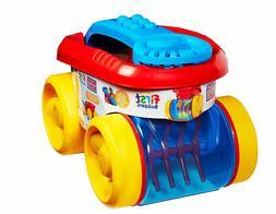 Mega Bloks Block Scooping Wagon Building Set Red Kids Buildi