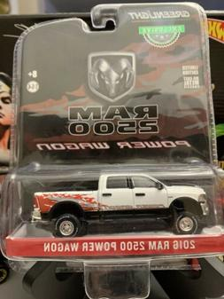 Blue 2016 Dodge Ram Power Wagon HOBBY GREENLIGHT DIECAST 1:6