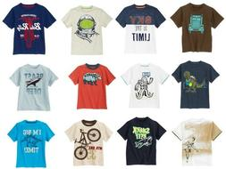 Gymboree Boys 10 Summer Tee Shirt Top Variety Space Bike Sha