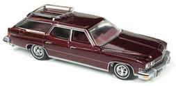 Auto World Buick Estate Station Wagon 1974 Burgundy Poly 641