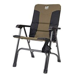 Timber Ridge Camping Folding Chair High Back Portable with C