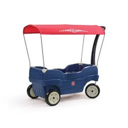 Step2 Canopy Cruise Wagon, Blue/Red New