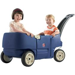 Wagon Cart For Kids for Two Ride-On Toys for Toddlers and Pr