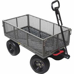 1200 lb Gorilla Cart 5 cu-ft Capacity Multi-Use Dump Cart GO