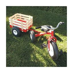 Childhood Classic Tricycle with Wagon Set Pull Along Trike T