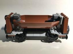 LEGO City 3677 Cargo Train Coal Hopper Car Brown 60098 Wagon