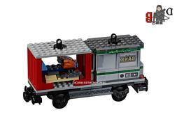 city cargo train 60198 container ski wagon