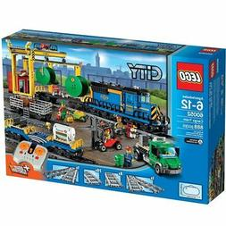 city town 60052 cargo train forklift draiver